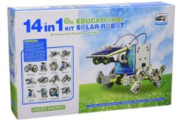 CEBEKIT Kit Educativo Solar 14 en 1