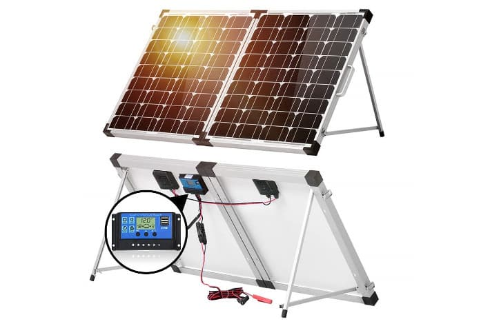 DOKIO Kit Placa Solar 100W