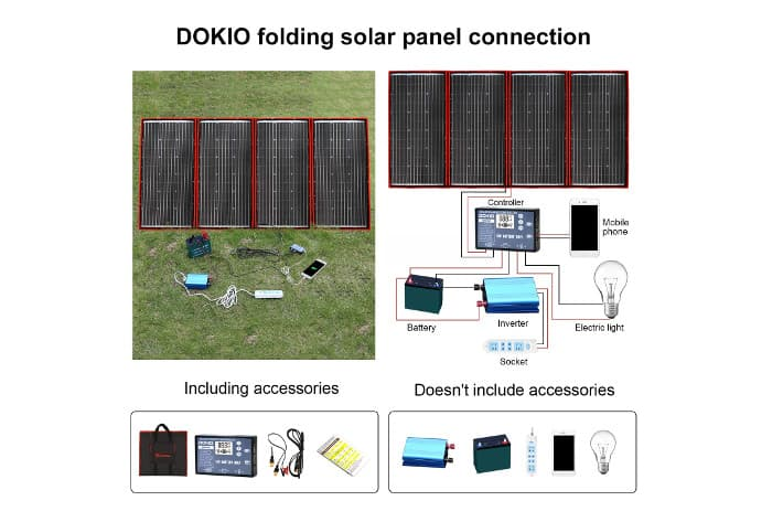 DOKIO Kit Solar 300W