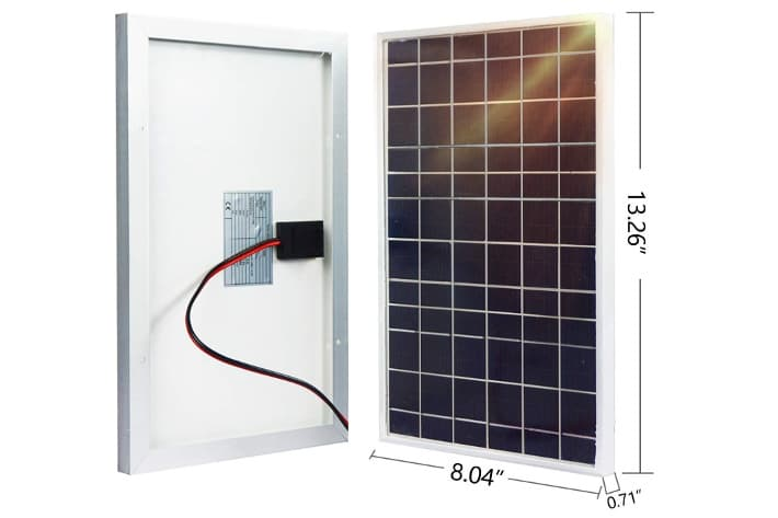 ECO-WORTHY Kit Solar 10W