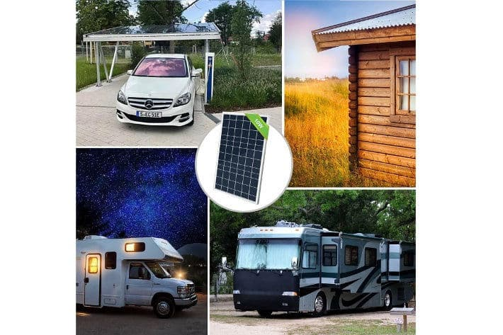 ECO-WORTHY Kit Placa Solar 10W