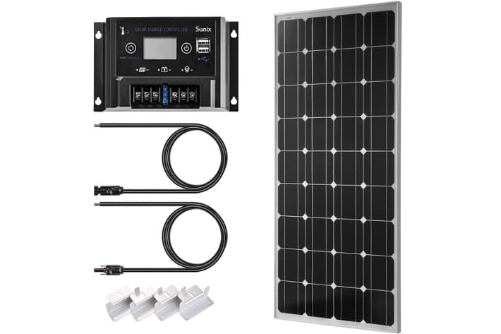 Sunix Kit Placa Solar 100W
