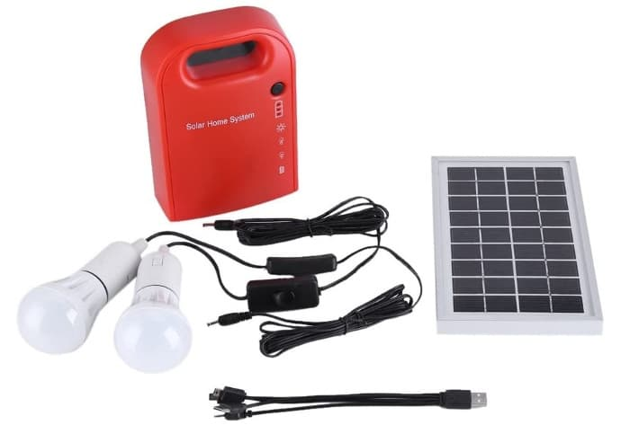 Zerodis Kit Placa Solar 3W