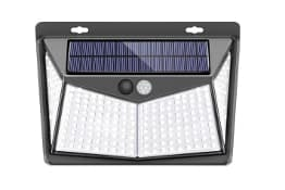 SEZAC Lámpara Solar 208 Led